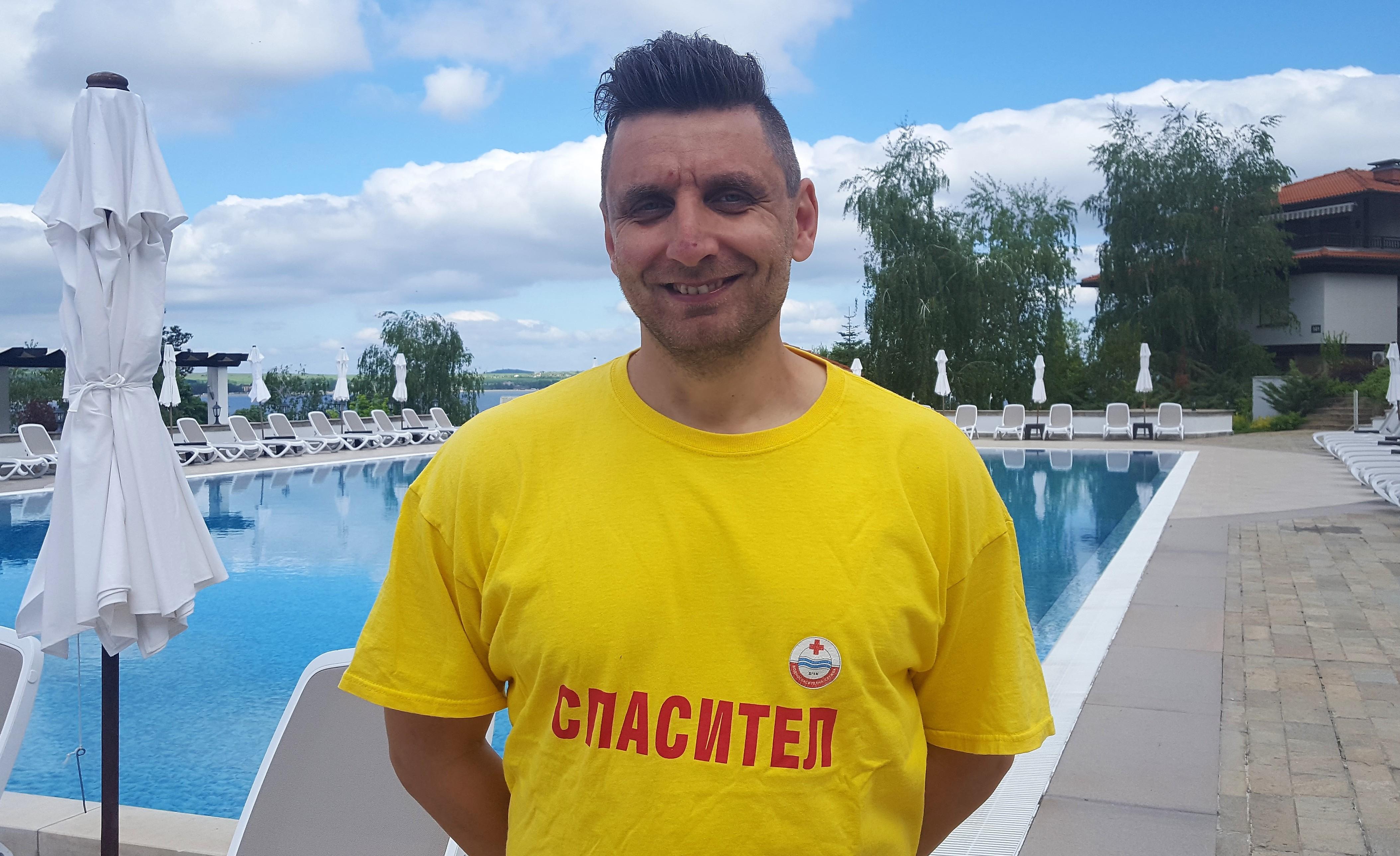 7b69c9ad71c Инструктор по плуване - Иван Кирилов Праматарски - 39 год.